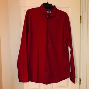NWT Express men's button down shirt size Large